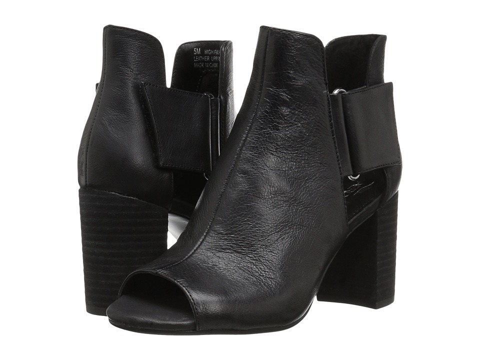 A2 by Aerosoles High Fashion (Black Leather) Women