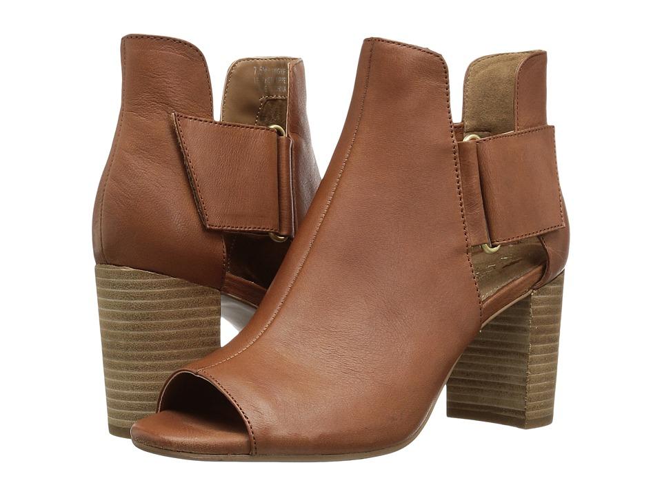 A2 by Aerosoles - High Fashion (Dark Tan Leather) Women's Shoes