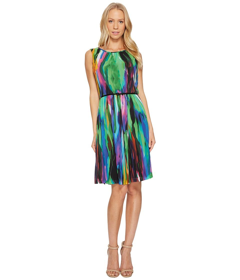 Ellen Tracy Multicolor Dress (Multi) Women