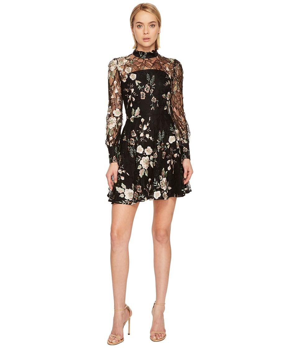 ZAC Zac Posen - Zarina Dress (Black Multi) Women's Dress
