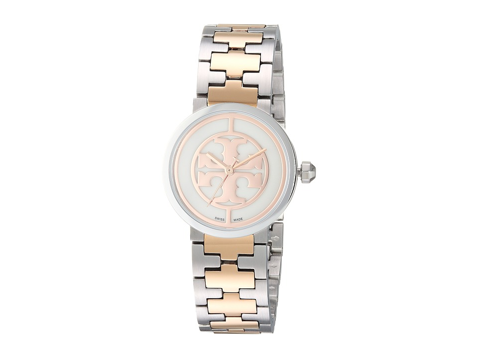 Tory Burch - TB4038 (Gold/Steel) Watches