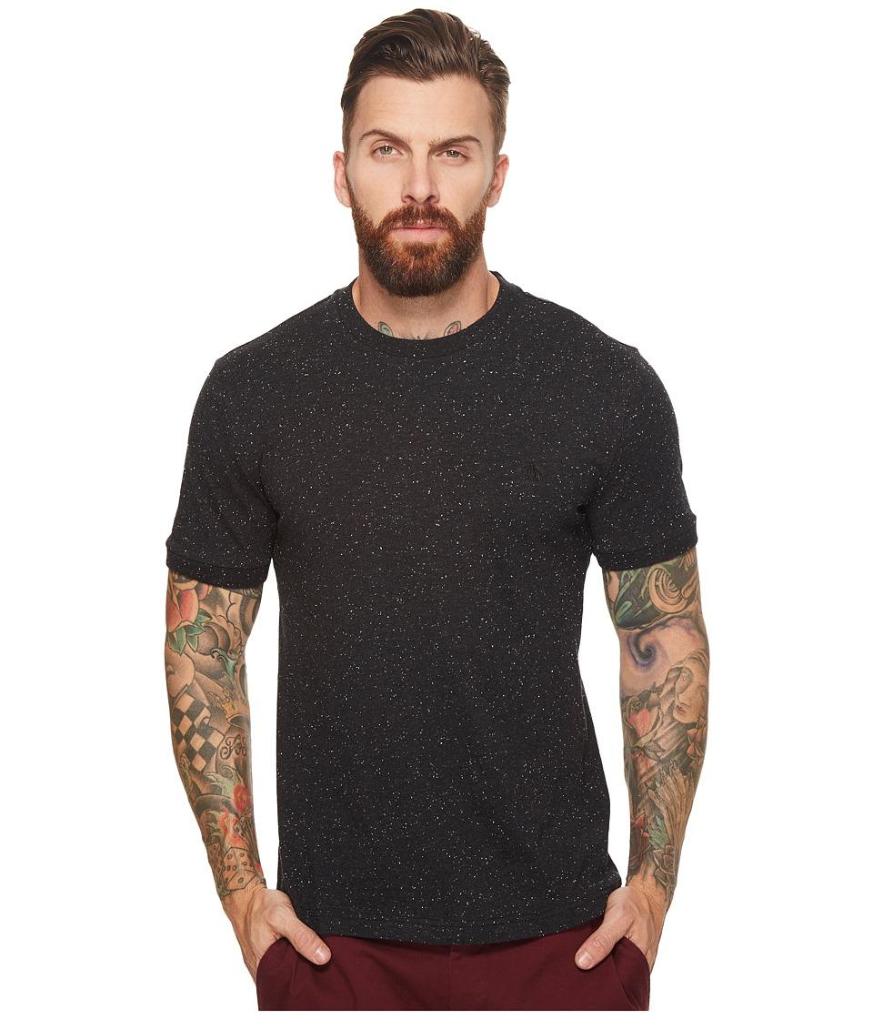 Original Penguin - Short Sleeve Nep Tee (True Black) Men's Short Sleeve Pullover