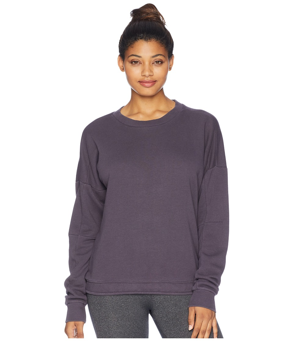 Reebok Training Essentials Crew Neck Sweatshirt (Smoky Volcano) Women