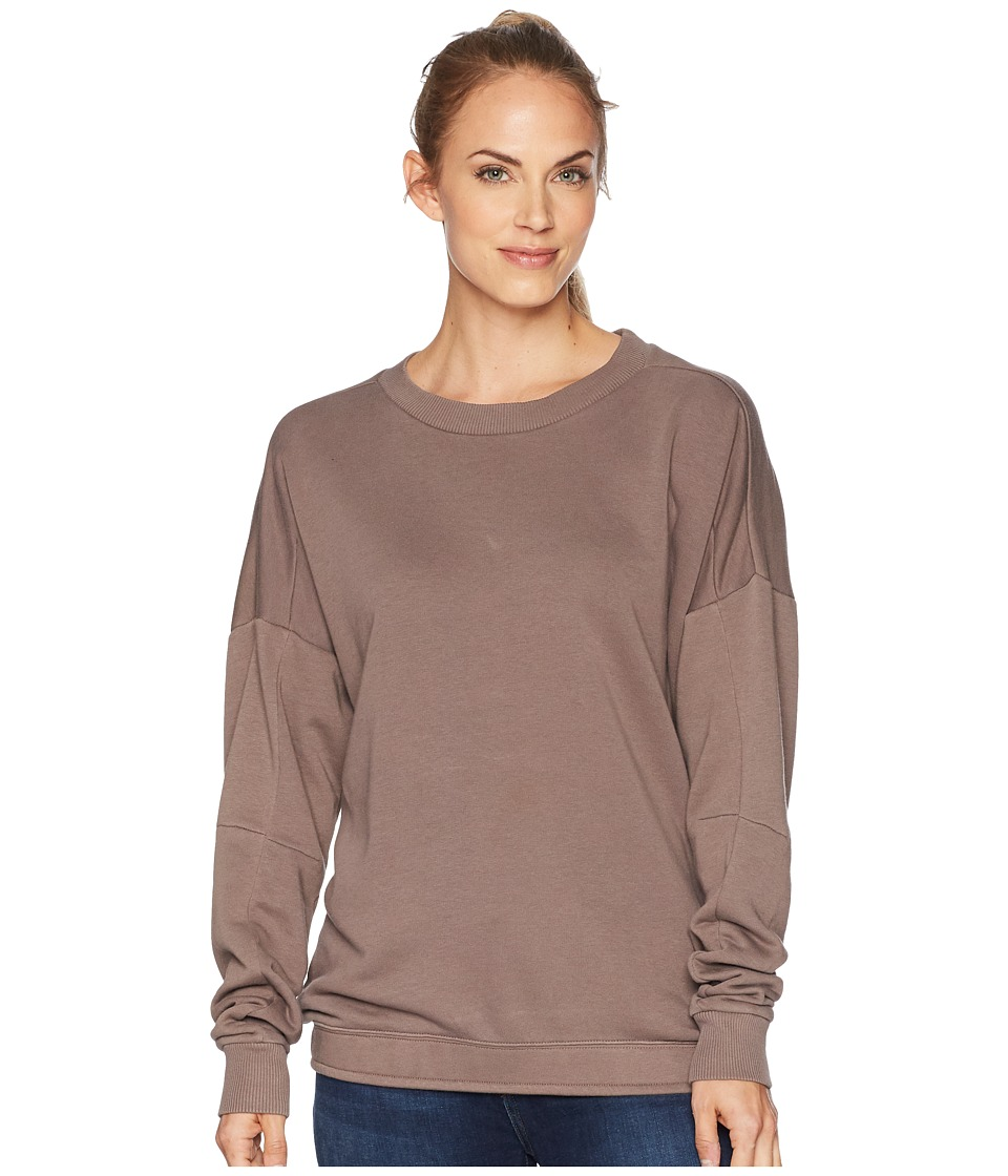 Reebok Training Essentials Crew Neck Sweatshirt (Smoky Taupe) Women