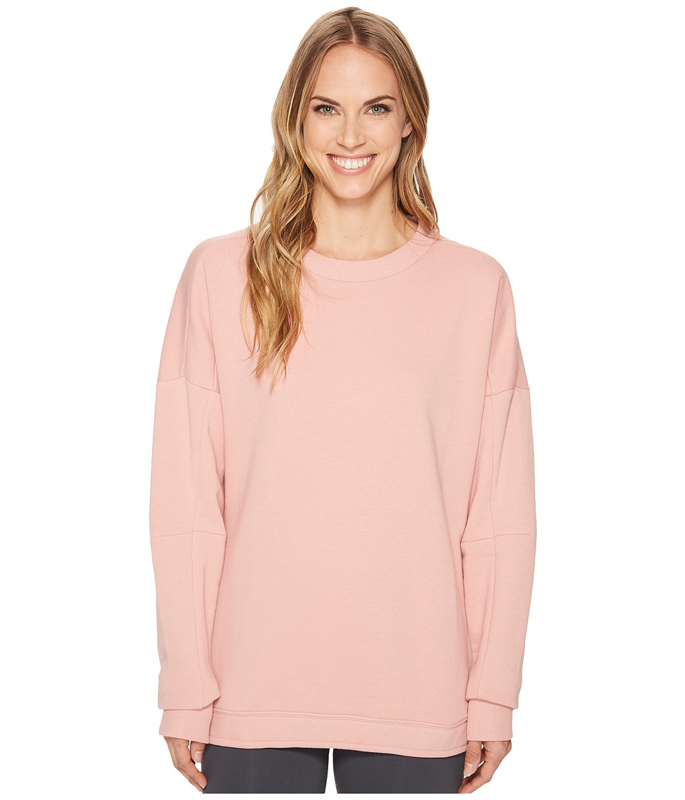 Reebok Training Essentials Crew Neck Sweatshirt (Chalky Pink) Women