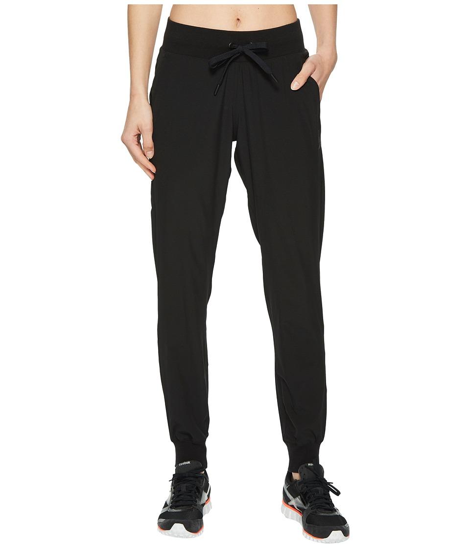 Reebok Training Supply Woven Pants (Black) Women