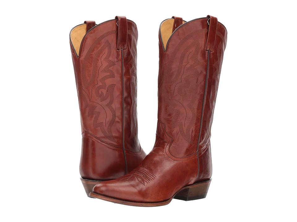 Roper Cassidy (Tan Leather Vamp) Cowboy Boots