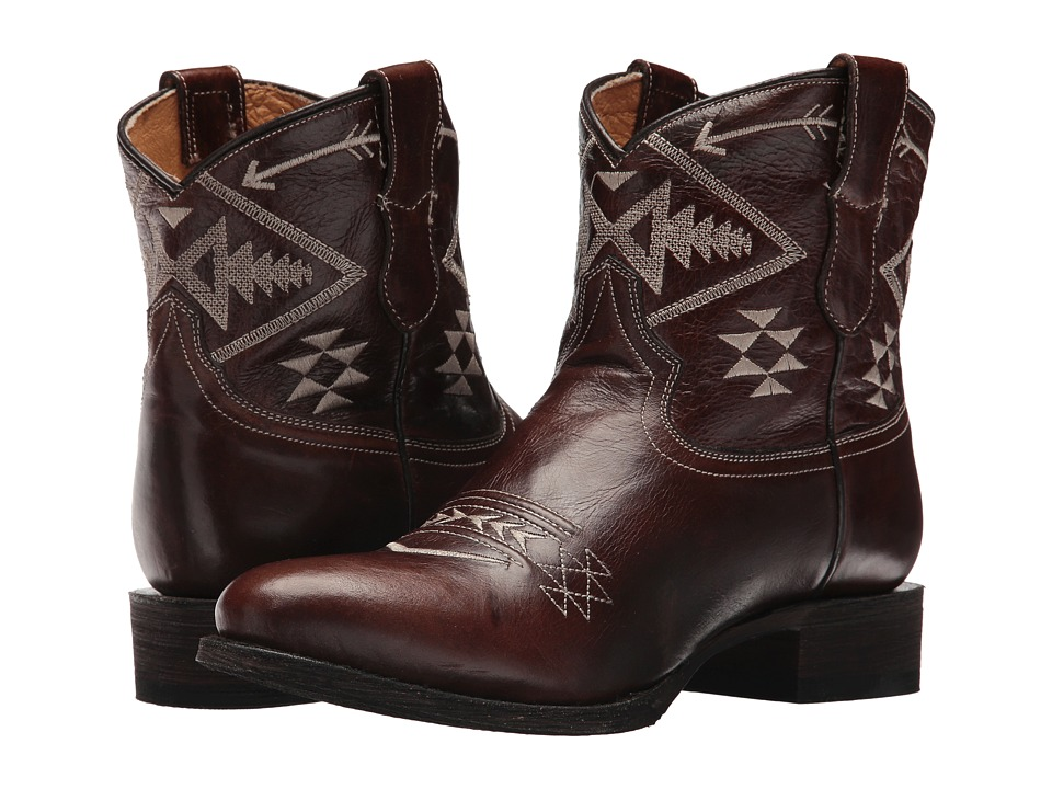 Roper Morning Star (Brown Leather Vamp) Cowboy Boots