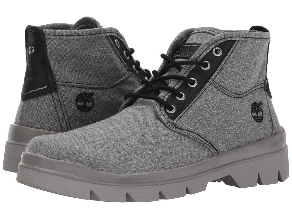 Timberland - City Blazer Fabric Leather Chukka (Forged Iron) Men's Boots