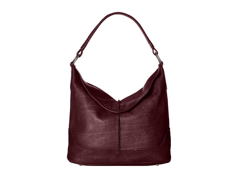 Frye - Cara Hobo (Burgundy) Hobo Handbags