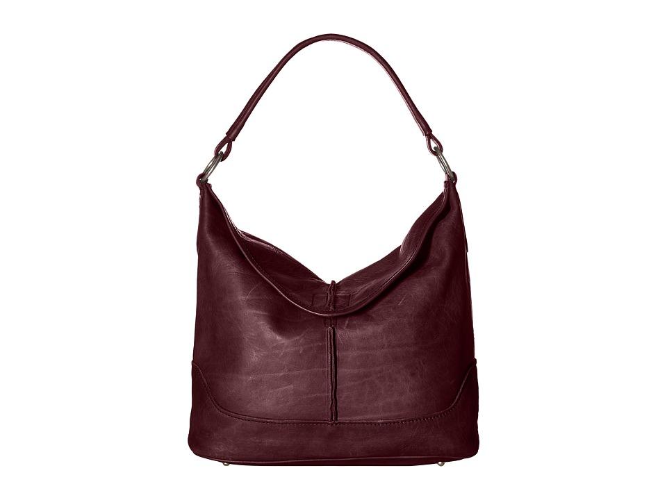 Frye - Cara Hobo (Burgundy) Hobo Handbags
