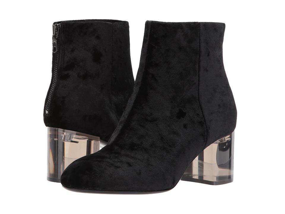 rag & bone Drea Boot (Black Velvet) Women
