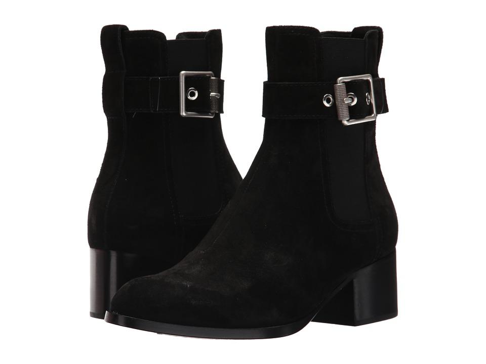 rag & bone Wilson Boot (Black Suede) Women