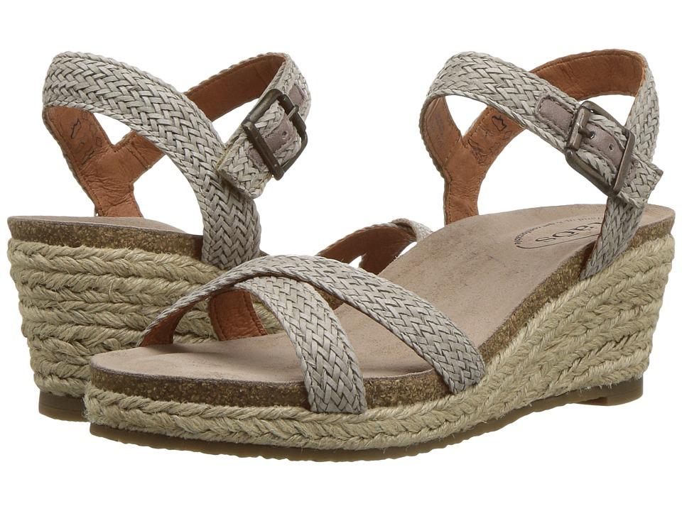 Taos Footwear Hey Jute (Stone) Women