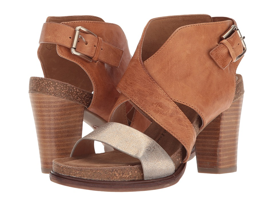Sofft Christine (Luggage/Gold Oyster/Calgary) High Heels