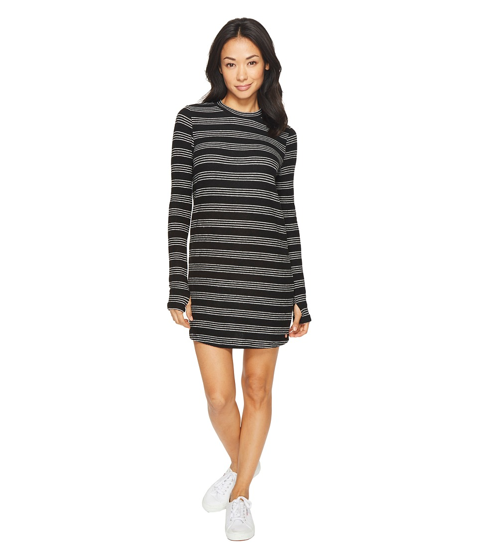 Volcom Lil Dress (Black Combo) Women