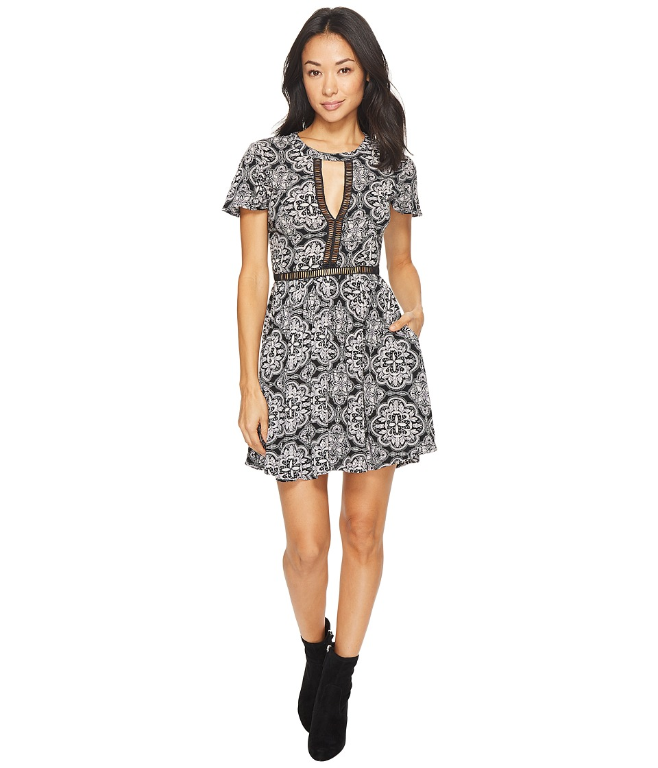 Volcom Even More Dress (Black Combo) Women