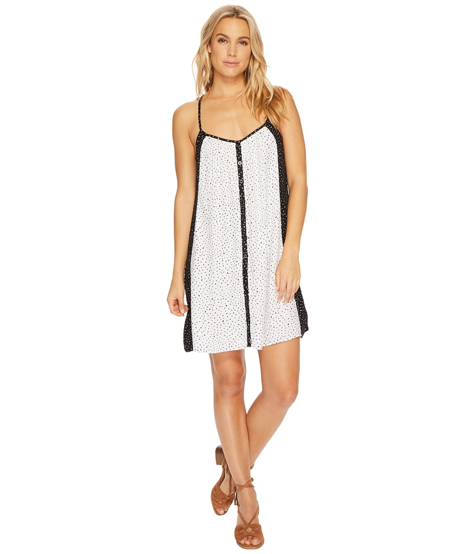 Volcom Mix A Lot Cami Dress (Black Combo) Women