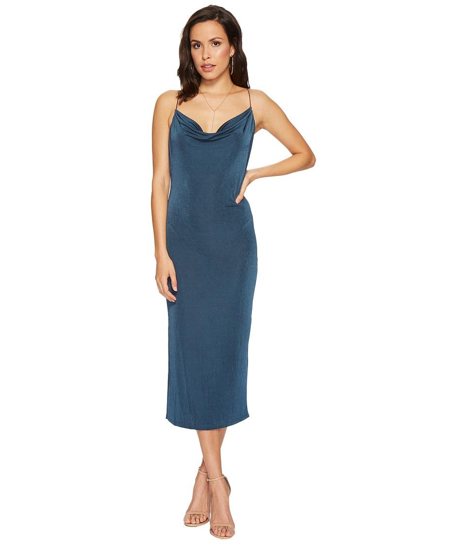 ASTR the Label Ivana Dress (Teal) Women