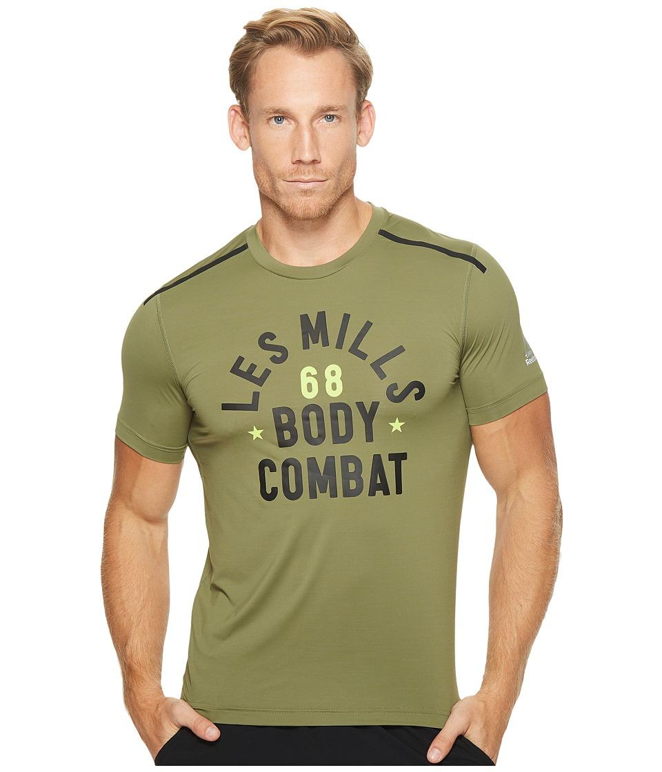 Reebok - LM Short Sleeve Activchill Tee (Canopy Grey) Men's T Shirt
