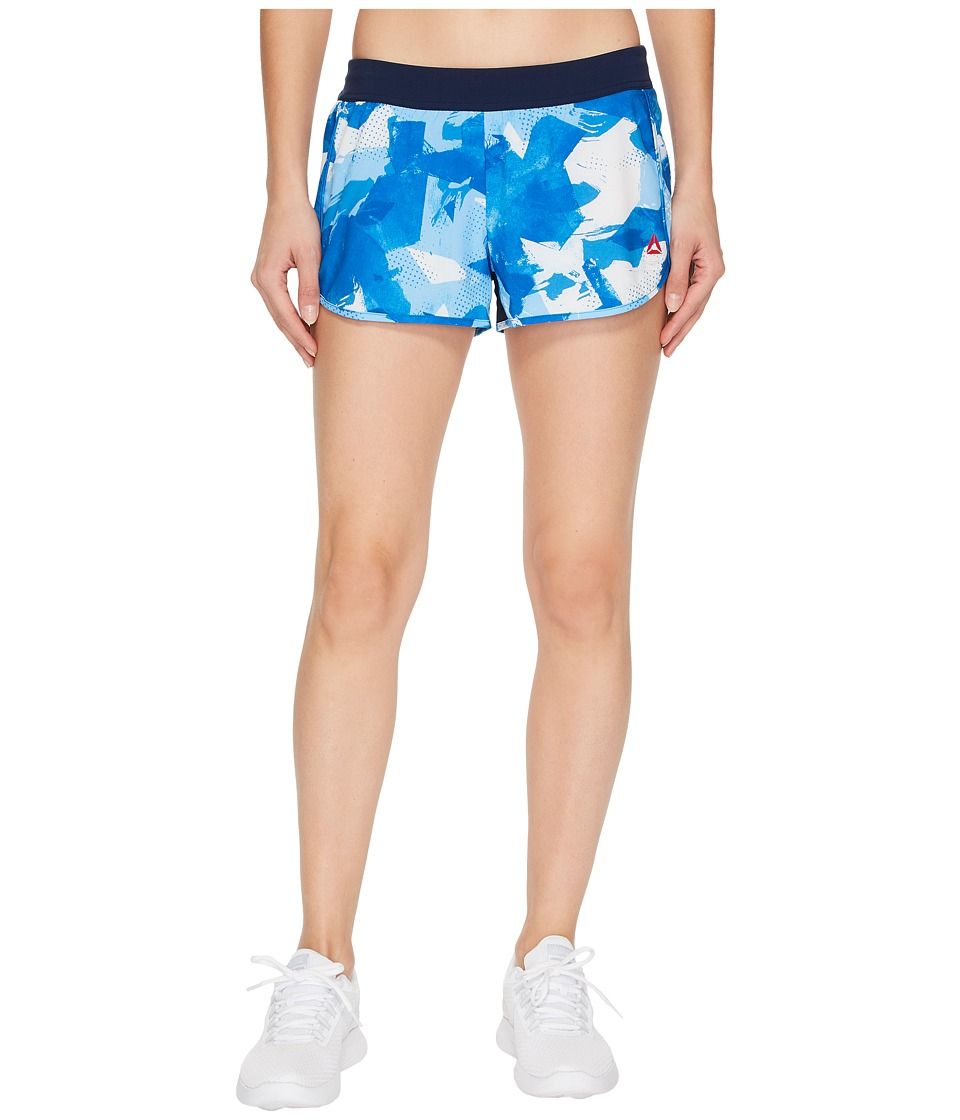 Reebok - CrossFit KNW Shorts (Awesome Blue) Women's Shorts