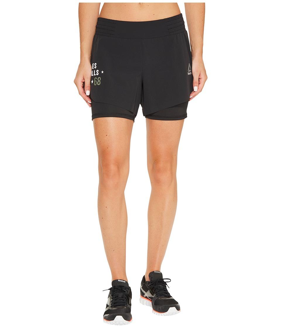 Reebok - LM Shorts (Black) Women's Shorts