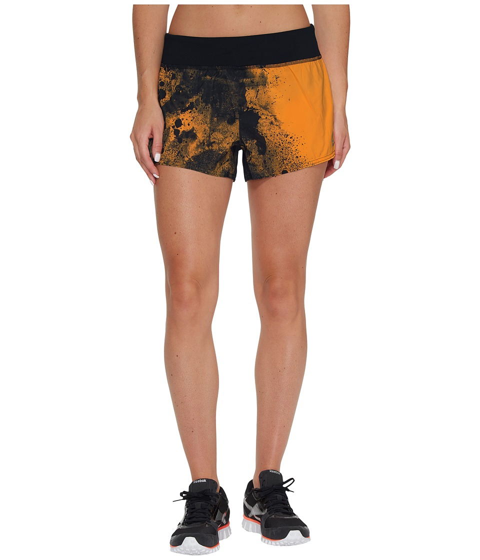 Reebok - 3 Shorts - Grit (Fire Spark) Women's Shorts
