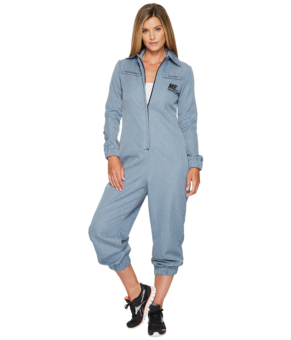 Reebok - Me Jumpsuit (Brave Blue) Women's Jumpsuit & Rompers One Piece