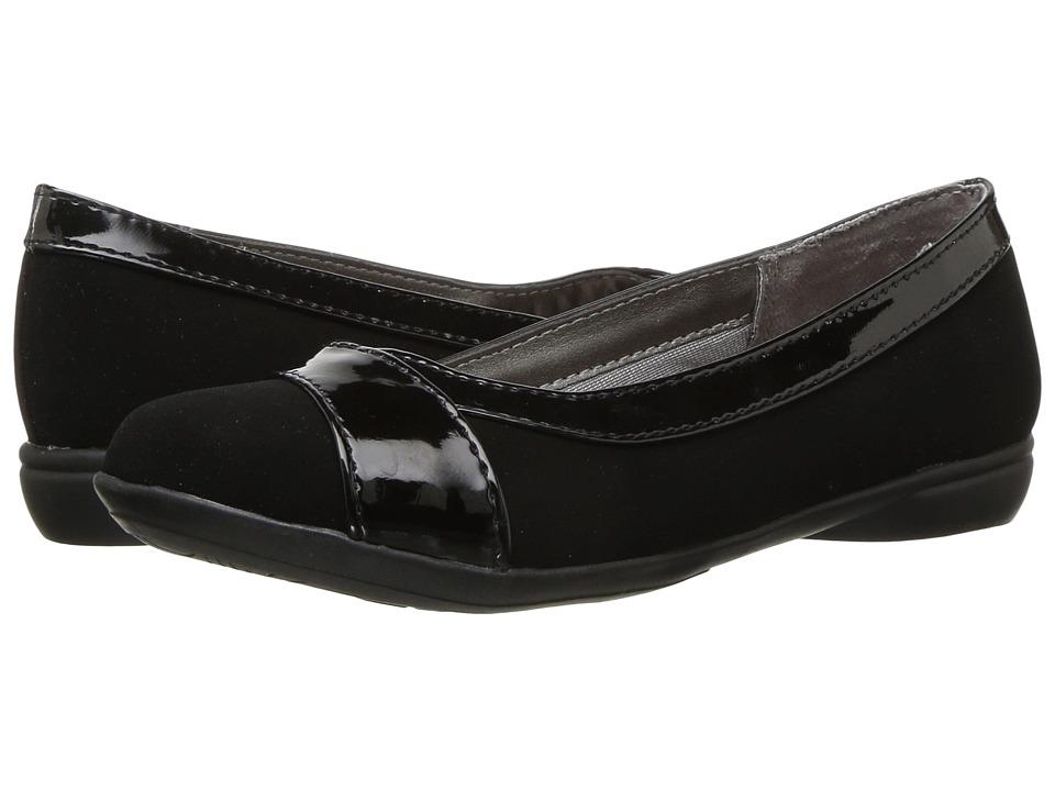 LifeStride - Azalea (Black/Black Patent) Women's Shoes