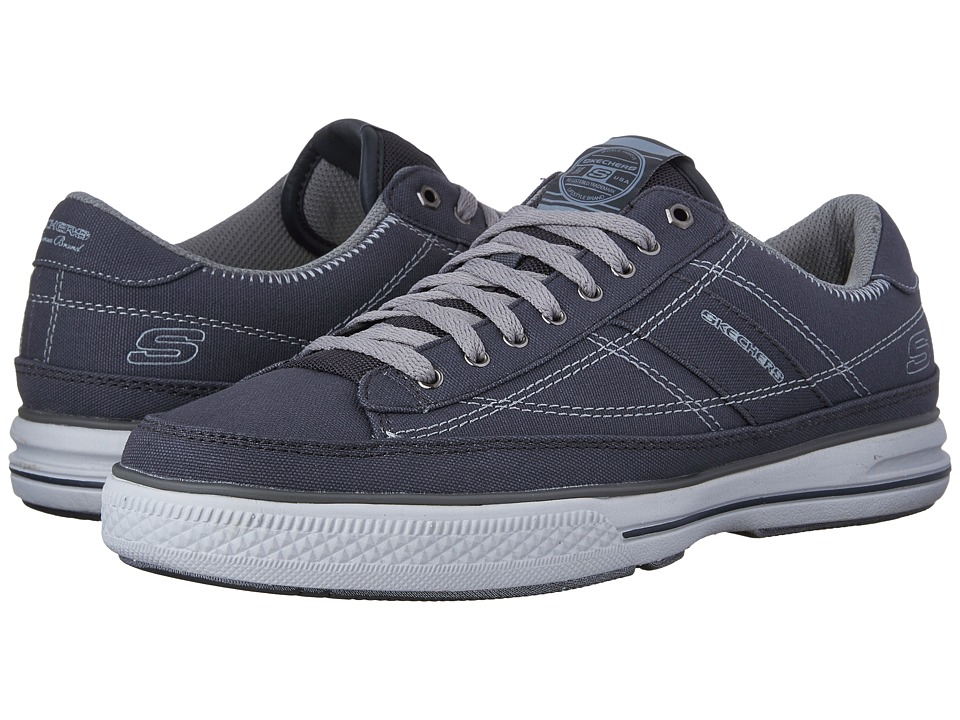 SKECHERS - Arcade Chat MF (Charcoal) Men's Shoes