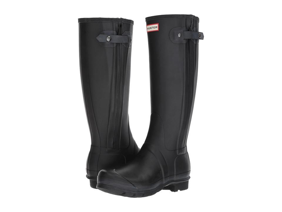 Hunter - Original Slim (Black) Women's Shoes
