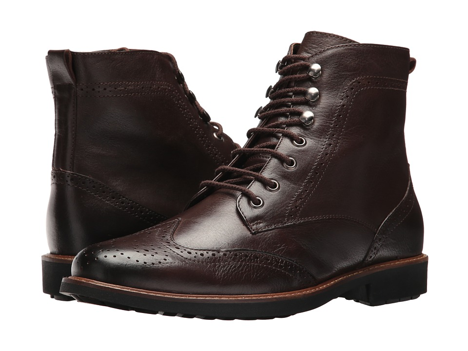 Massimo Matteo Perf Wing Boot (Cafe) Men