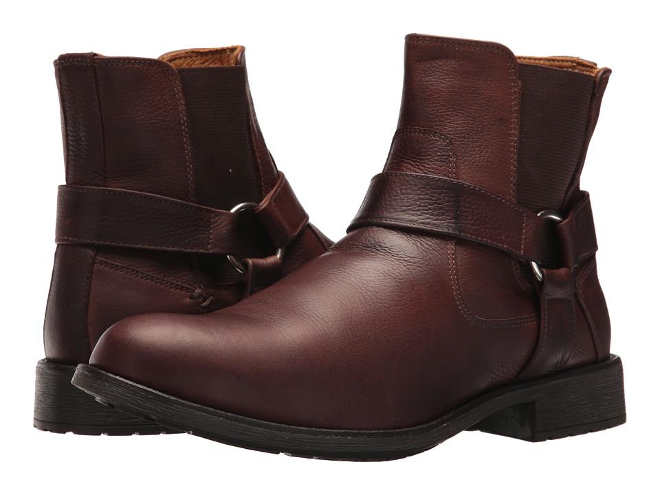 Massimo Matteo Biker Boot (Brown) Men
