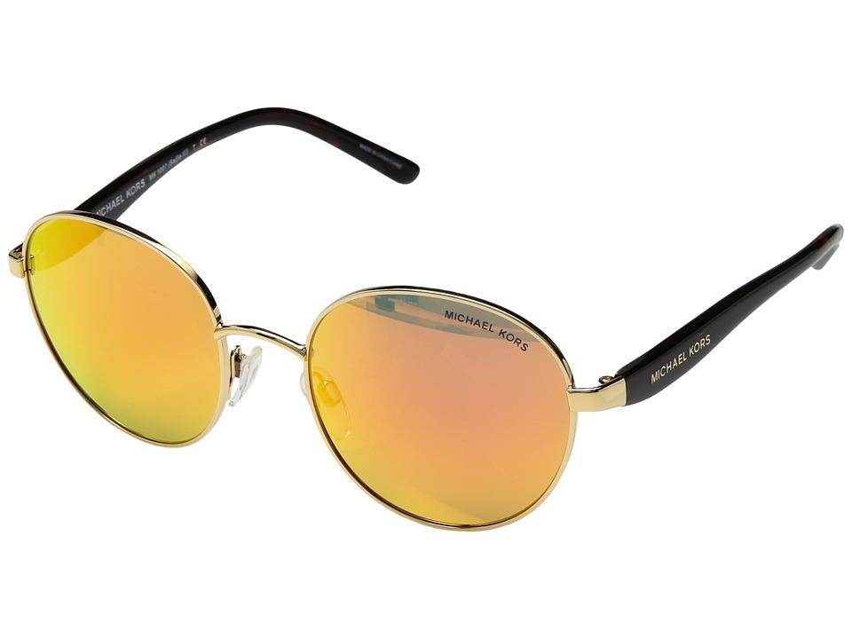 Michael Kors - 0MK1007 (Gold/Tortoise) Fashion Sunglasses