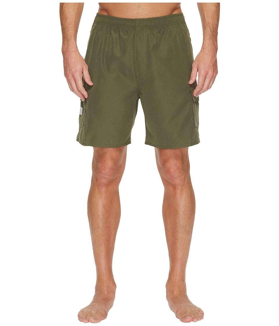 Quiksilver Waterman - Balance 6 Volley Shorts (Beetle) Men's Shorts
