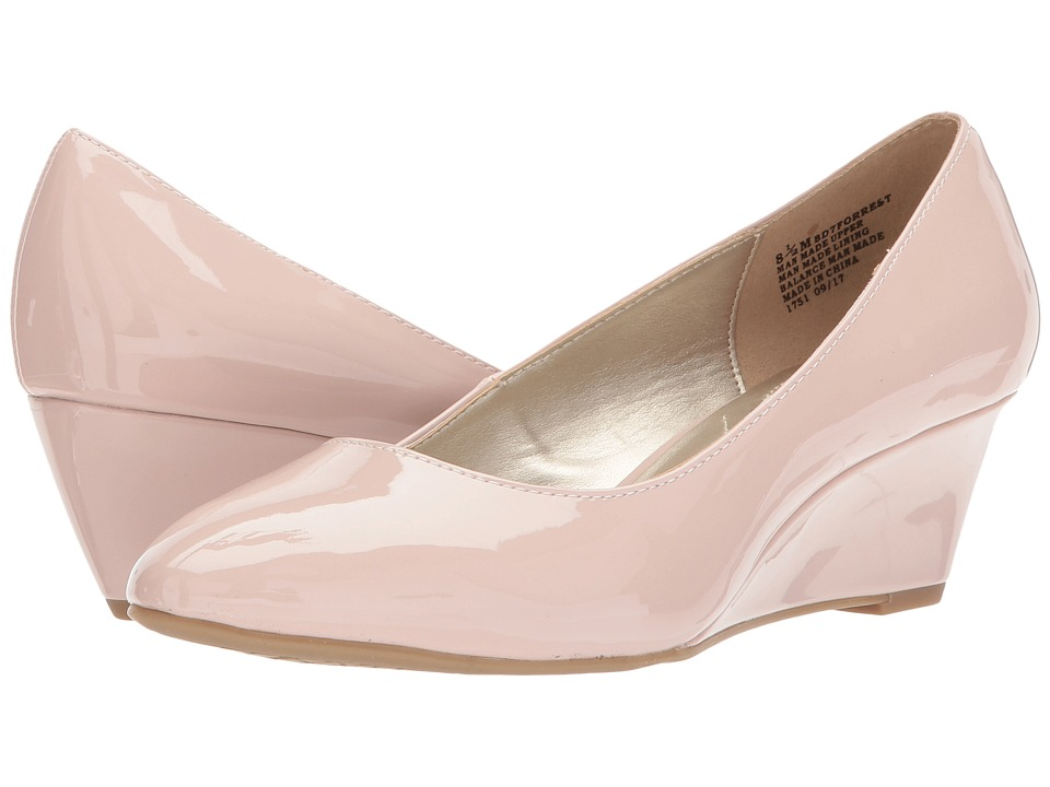 Bandolino - Forrest (Dusty Pink Sleek Patent PU) Women's Shoes