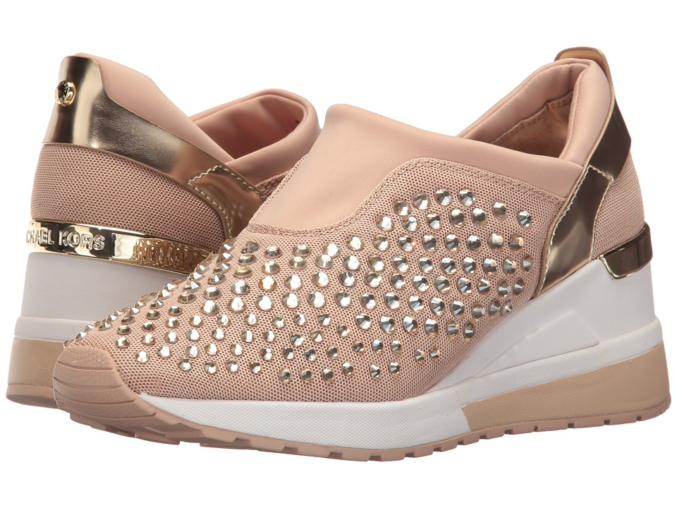 MICHAEL Michael Kors Maloy Trainer (Oyster/Pale Gold) Women