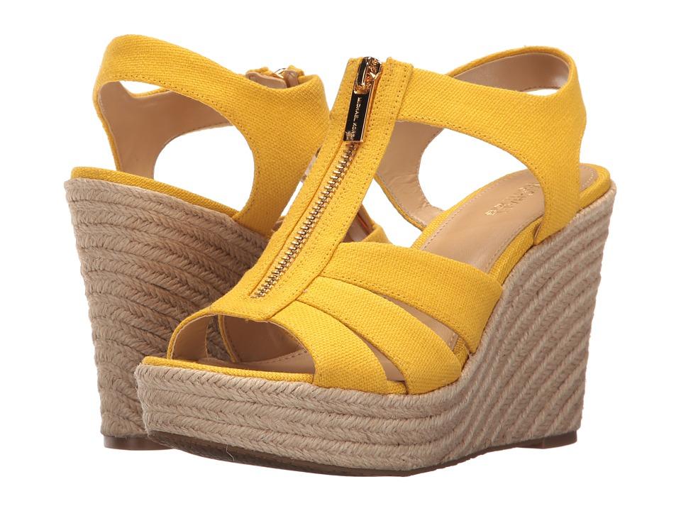 MICHAEL Michael Kors - Berkley Wedge (Sunflower) Women's Wedge Shoes