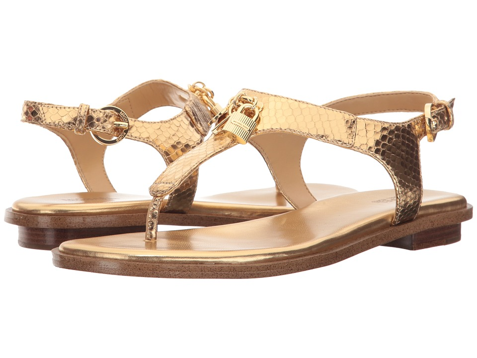 MICHAEL Michael Kors - Suki Sandal (Pale Gold) Women's Sandals