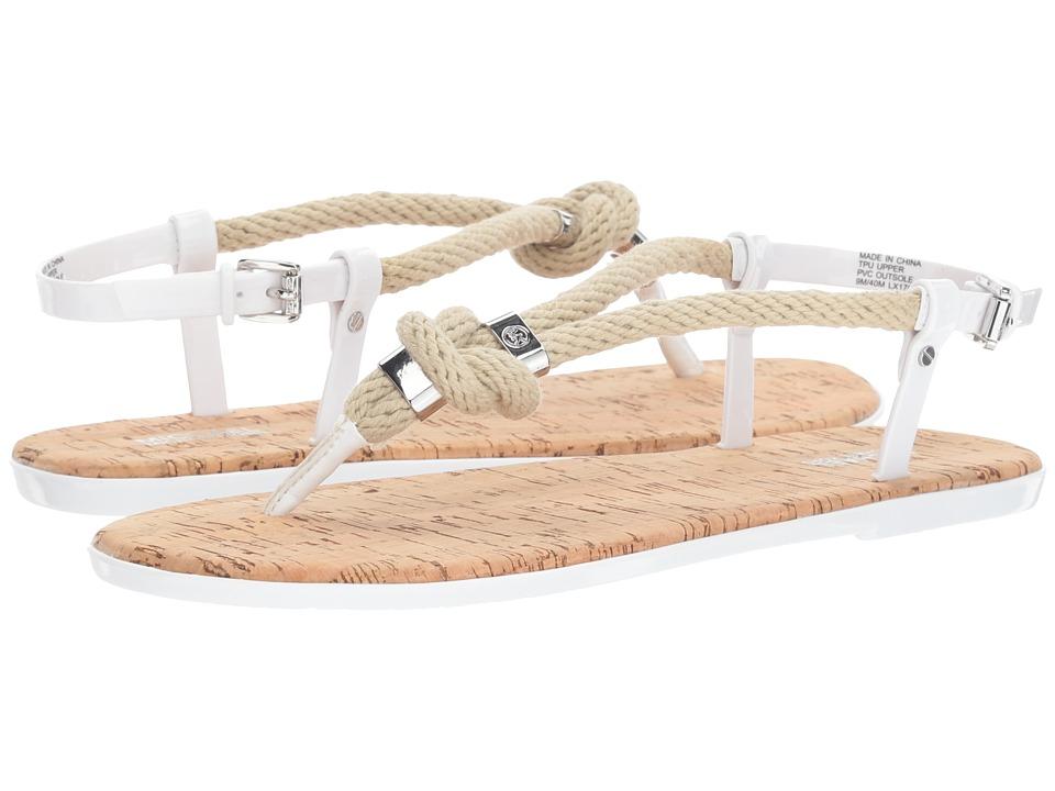 MICHAEL Michael Kors - Holly Jelly Sandal (Optic White) Women's Sandals
