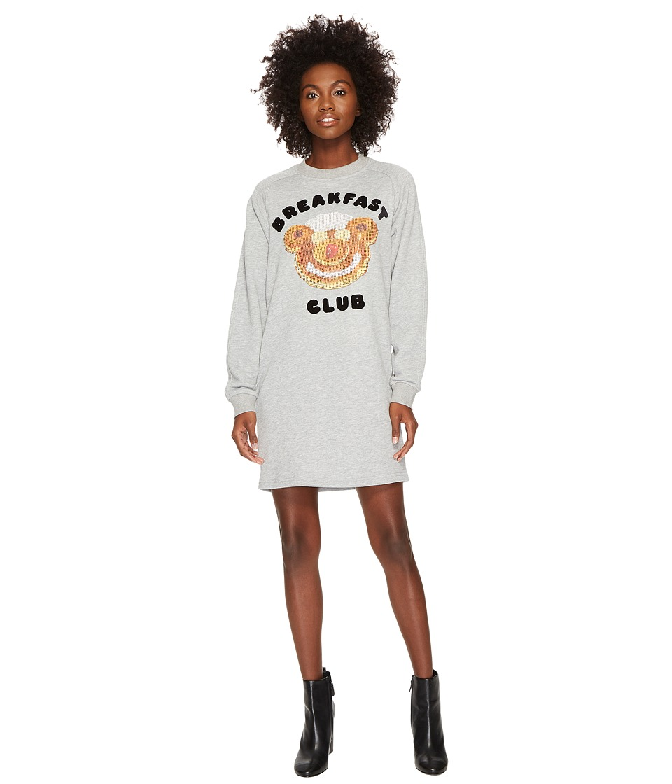 Jeremy Scott Breakfast Club Sweatshirt Dress