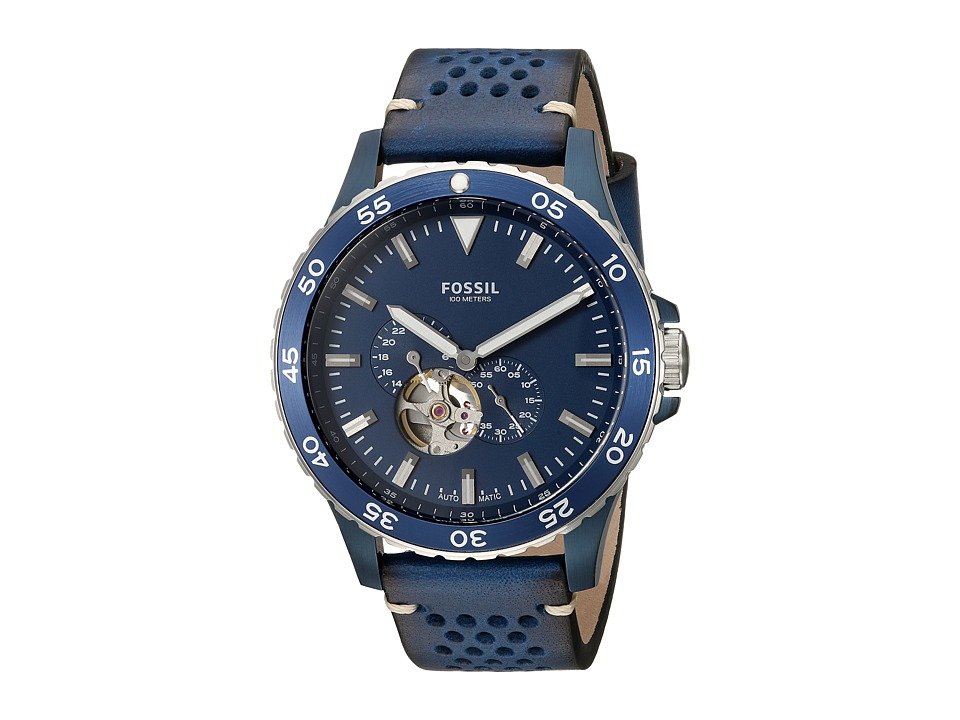 Fossil - ME3149 (Blue/Silver) Watches