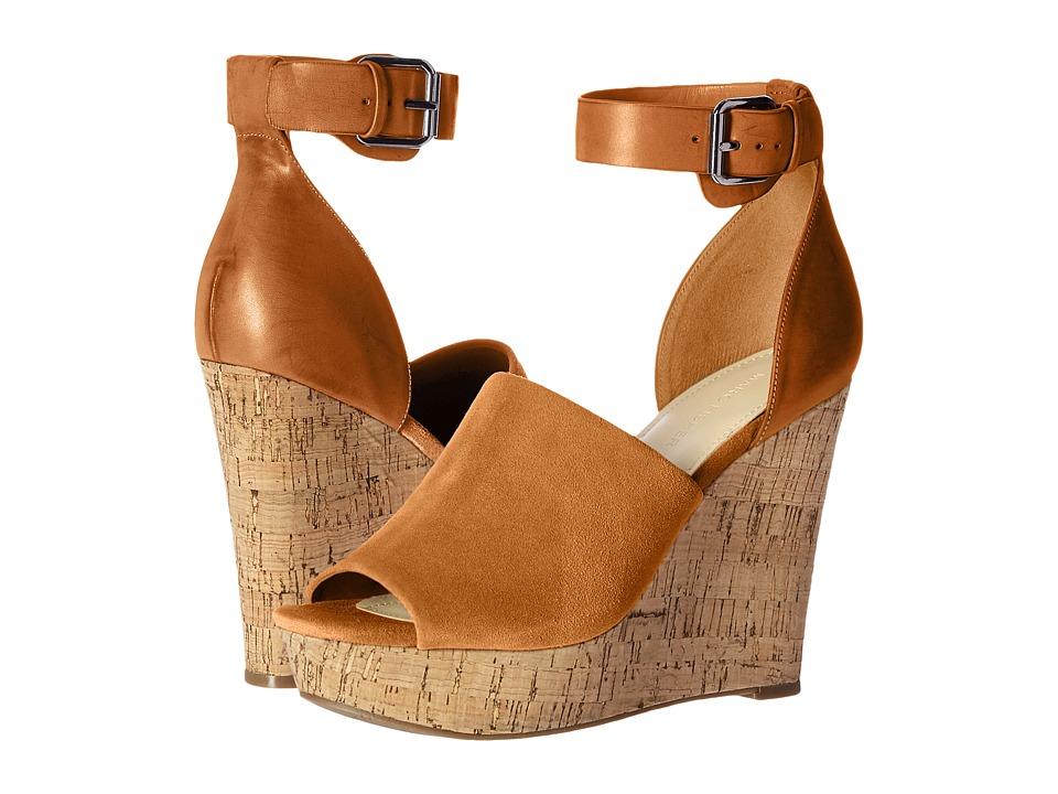 Marc Fisher - Hadeya (Cognac Suede) High Heels