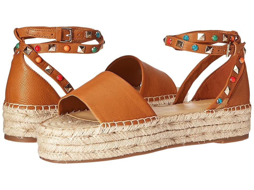 Marc Fisher - Vajen (Tan Leather) Women's 1-2 inch heel Shoes