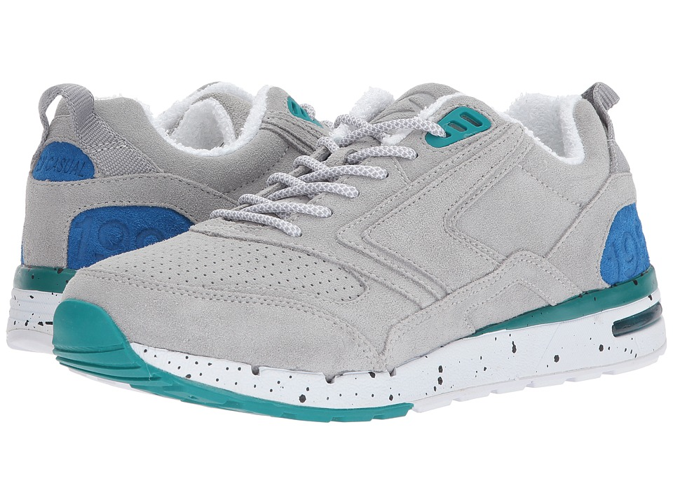 Brooks Heritage - Fusion (Light Grey/Dark Grey/Blue/Teal) Men's Shoes