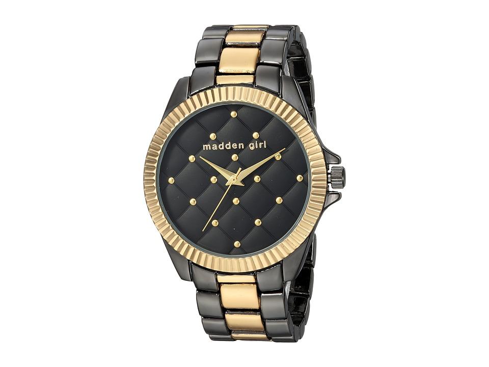 Steve Madden - Madden Girl SMGW009TGB-BK (Black/Gold) Watches