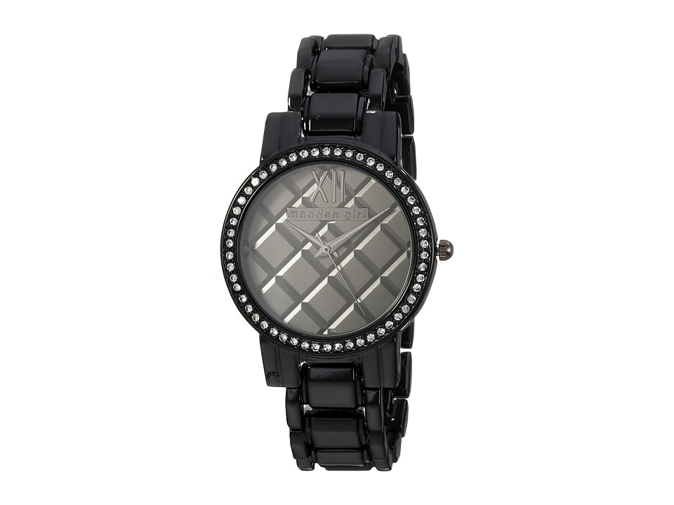 Steve Madden - Madden Girl SMGW017BK (Black) Watches