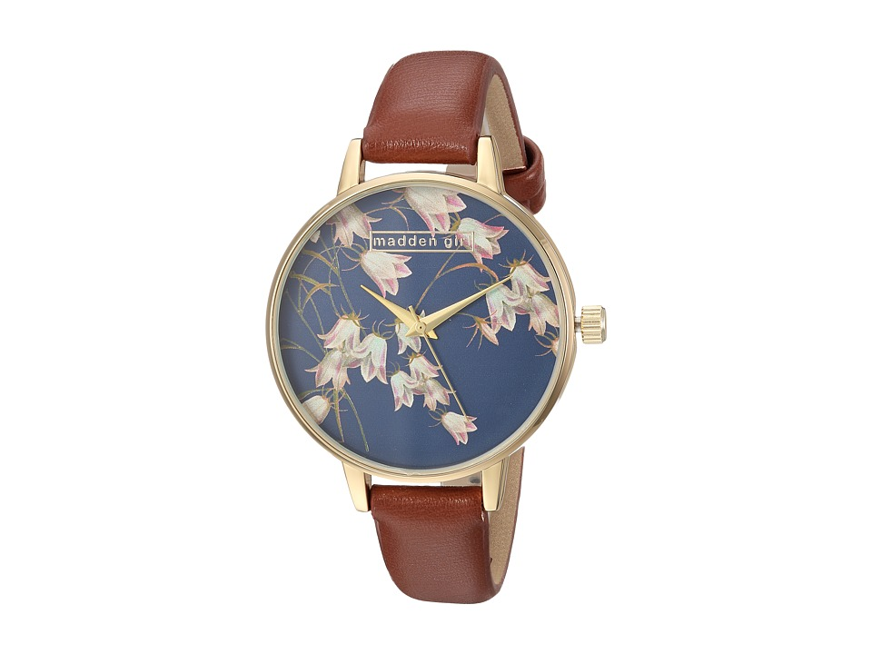 Steve Madden - Madden Girl SMGW022G-BR (Floral/Brown) Watches