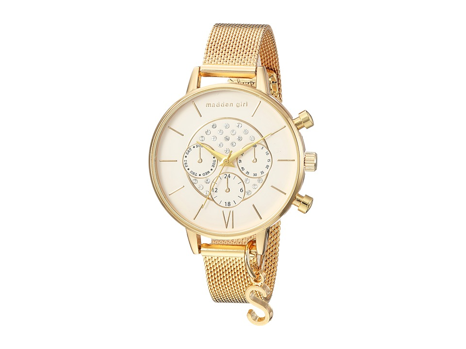 Steve Madden - Madden Girl SMGW023G (Gold) Watches