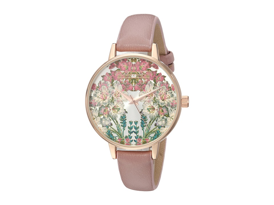 Steve Madden - Madden Girl SMGW022Q-LP (Floral/Suede) Watches